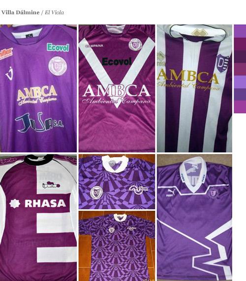 El color violeta en las camisetas argentinas - Paladar Negro 1dee11cdc9323